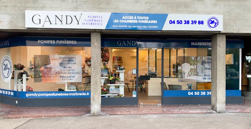 Notre agence Gandy à Annemasse