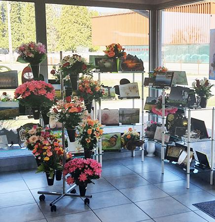 Nos fleurs et ornements, boutique de Seyssel